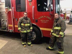 Suisun Fire - Jenny's Heroes California